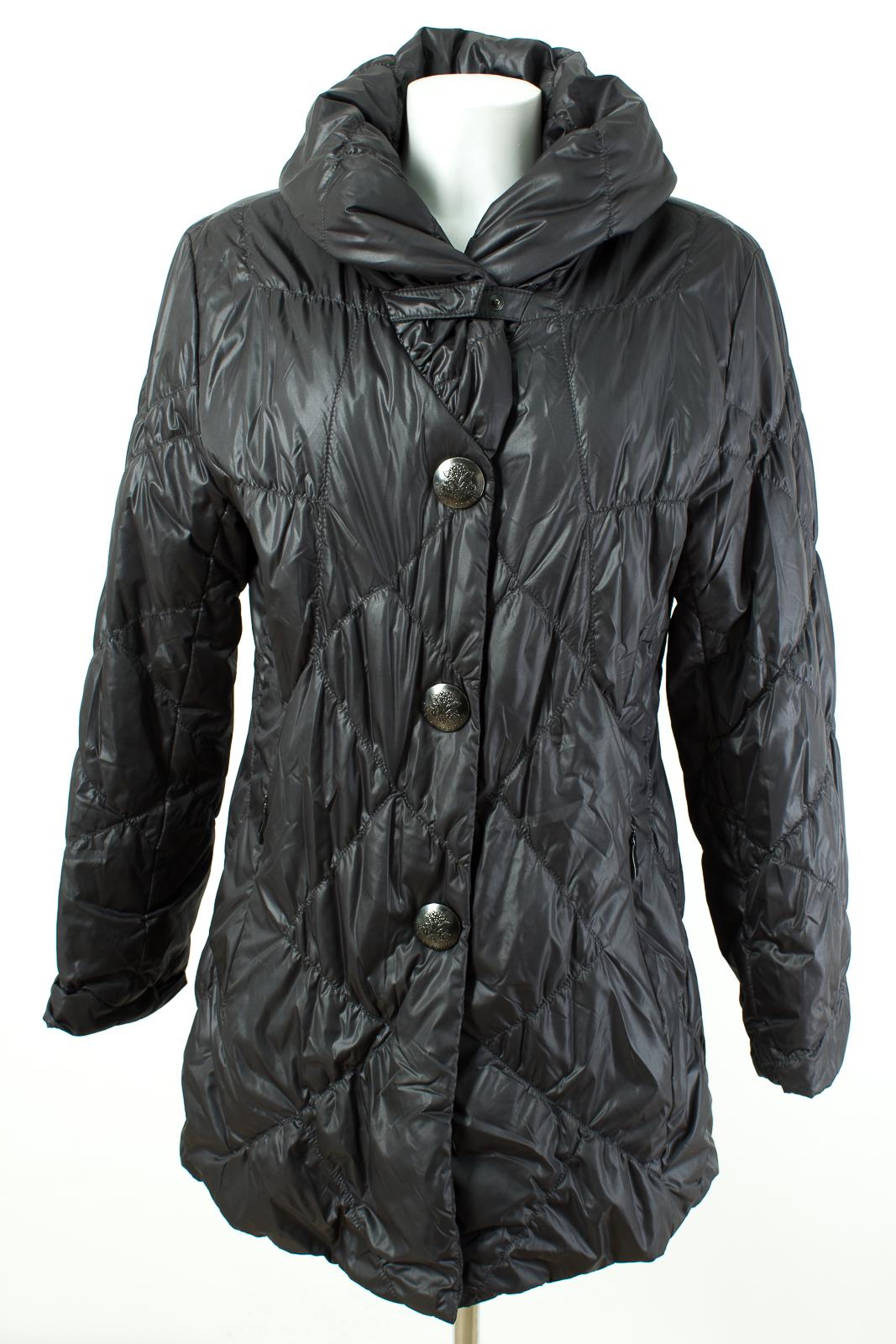fuchs schmitt mantel gr xl 42 wintermantel steppmantel coat ebay. Black Bedroom Furniture Sets. Home Design Ideas